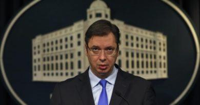 """Вучиќ откри што се случувало на Самитот во Тирана: Му реков на Тачи """"Што правиш бре ти"""""""