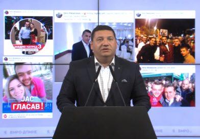 Ристески: Прилеп стана град на вдомување на партиските кадри на СДСМ